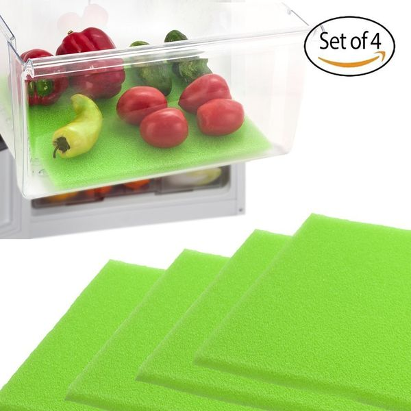 These foam savers can be trimmed to fit any draw size. They allow air to circulate throughout the draws to keep your produce