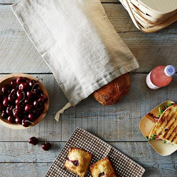 Protect your fresh-baked dough from the elements with these reusable linen bread bags. They keep bread fresher for longer per