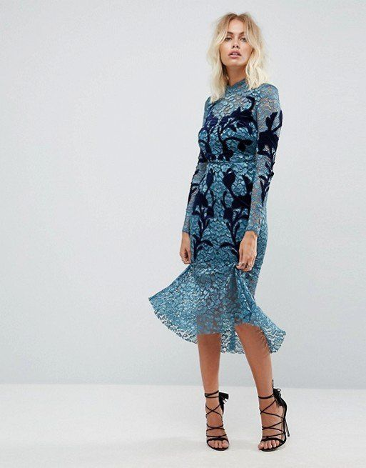 """<strong><a href=""""http://us.asos.com/hope-and-ivy/hope-ivy-long-sleeve-lace-dress-with-velvet-applique-detail/prd/8663382"""" tar"""