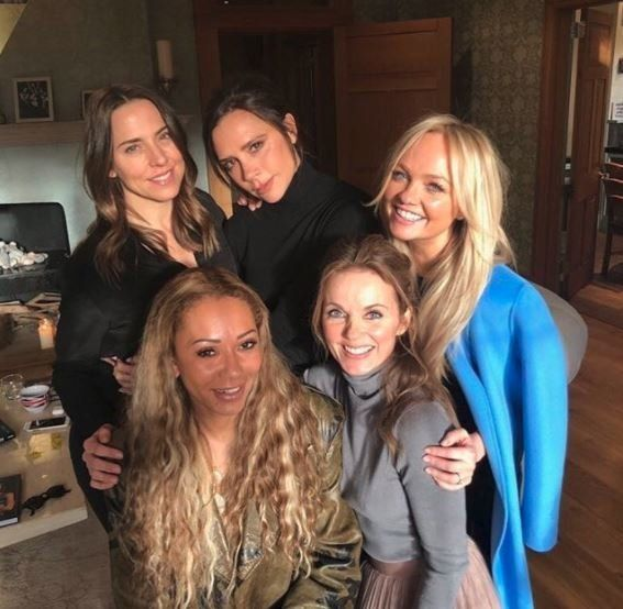 The Spice Girls came together to talk reunion plans earlier this