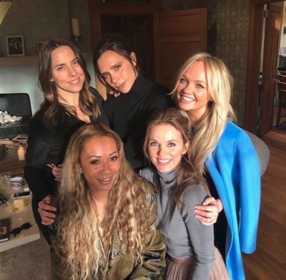 Emma Bunton Reveals All Five Spice Girls Met Up Last Week