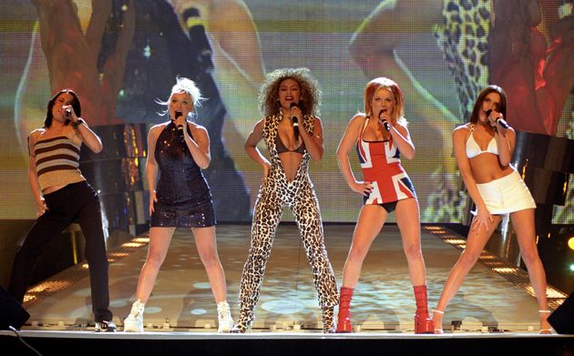 The Spice Girls back in their pop