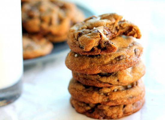 """<strong>Get the <a href=""""http://www.ambitiouskitchen.com/2012/09/nutella-stuffed-brown-butter-sea-salt-chocolate-chip-cookies"""