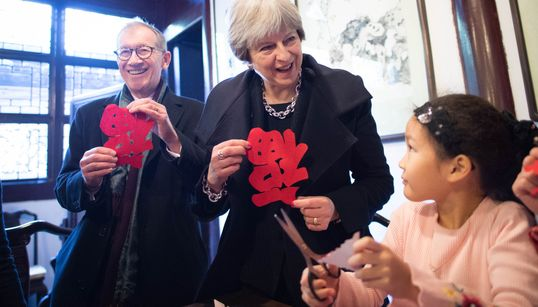 Trading Places: Theresa May's China Search For Brexit