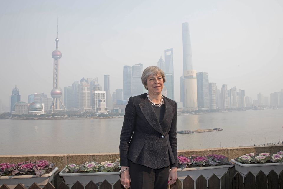 Trading Places: How Theresa May Went To China In Search Of A Brexit