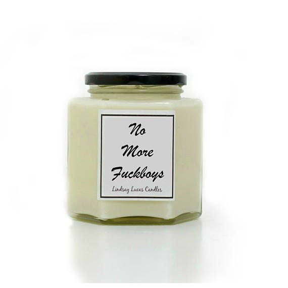 "Get it <a href=""https://www.etsy.com/listing/524469405/no-more-fckboys-candle-gift-pun-gift?ga_order=most_relevant&amp;ga_sea"