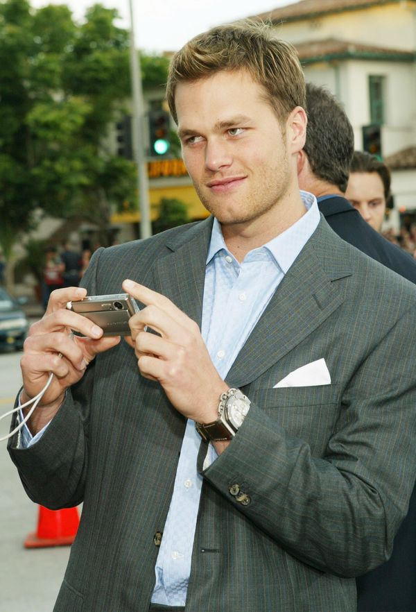 """Attendingthe premiere of 20th Century Fox's """"I, Robot"""" at the Village Theater on July 7, 2004, in Los Angeles."""