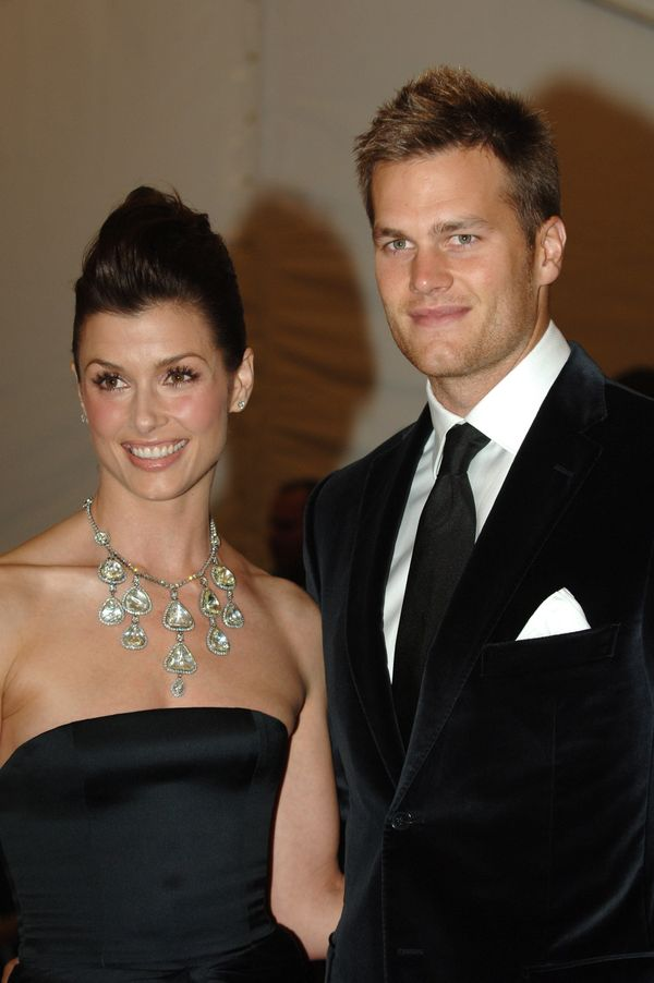 """With former girlfriend Bridget Moynahan at theMetropolitan Museum of Art Costume Institute Benefit Gala for """"Anglomania"""