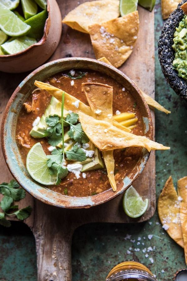 """<strong>Get the <a href=""""https://www.halfbakedharvest.com/slow-cooker-chipotle-chicken-tamale-chili/"""" target=""""_blank"""">Slow Co"""