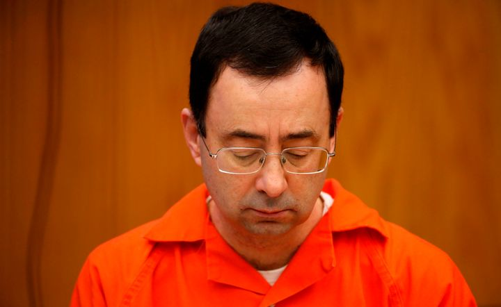Larry Nassar in court for his second sentence hearing on Jan. 31, 2018.