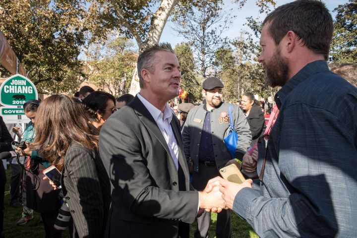 Travis Allen andfive other current or formerCalifornia lawmakers have been investigated by the state legislature
