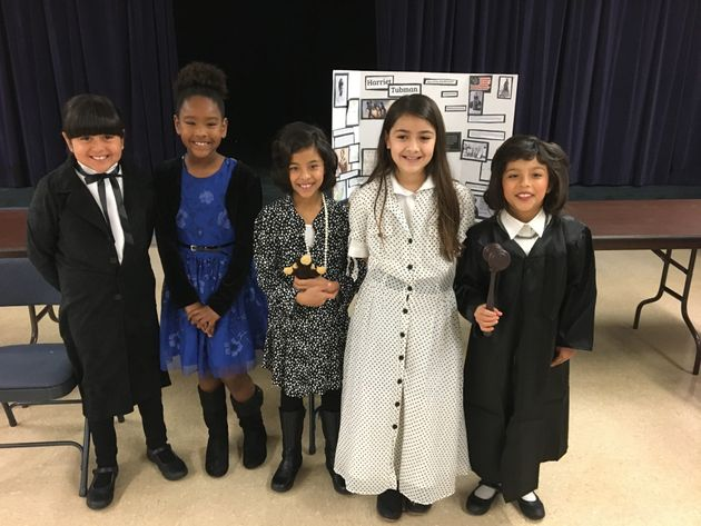 Dow said some of Alexandra's friends dressed up as Supreme Court Justice Sonia Sotomayor, Malala, Frida...