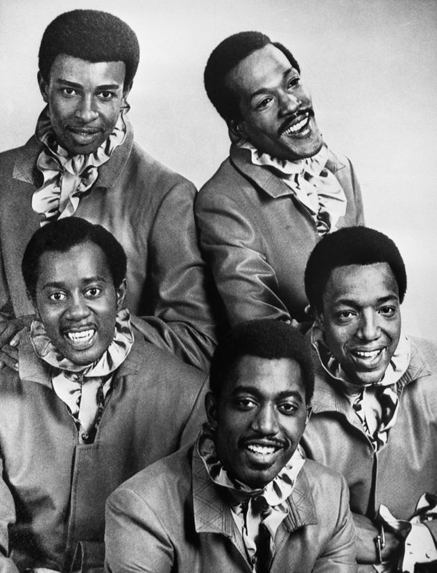 The Temptations pictured in 1970(back, left to right) Dennis Edwards, Eddie Kendricks, (front left...