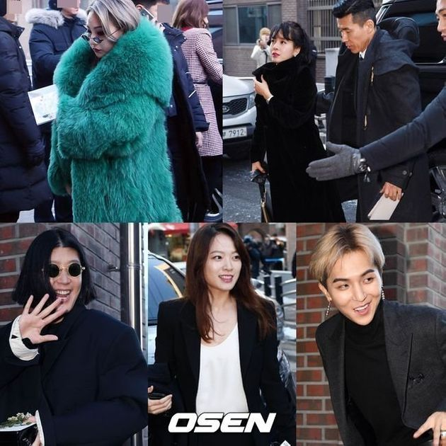 태양-민효린 결혼식에 참석한 스타들의 모습