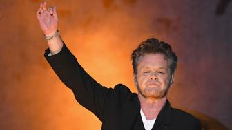 NEW YORK, NY - JULY 11:  Musician John Mellencamp performs live on stage during the Sad Clowns & Hillbillies Tour at Forest Hills Stadium on July 11, 2017 in New York City.  (Photo by Gary Gershoff/Getty Images)