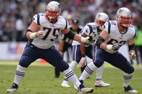 Patriots offensive linemen Ted Karras 75 and Joe Thuney 62 would both accept a gay teammate