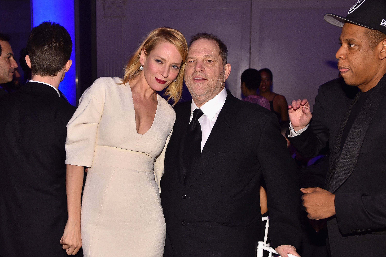 Uma Thurman Says Harvey Weinstein Assaulted Her