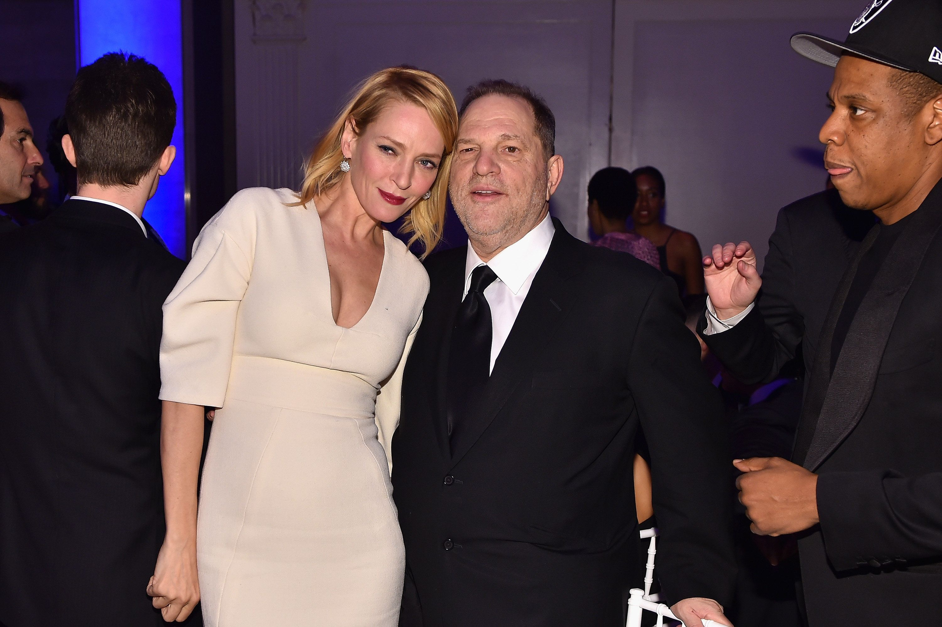 Uma Thurman Breaks Silence Over Alleged Harvey Weinstein Sexual
