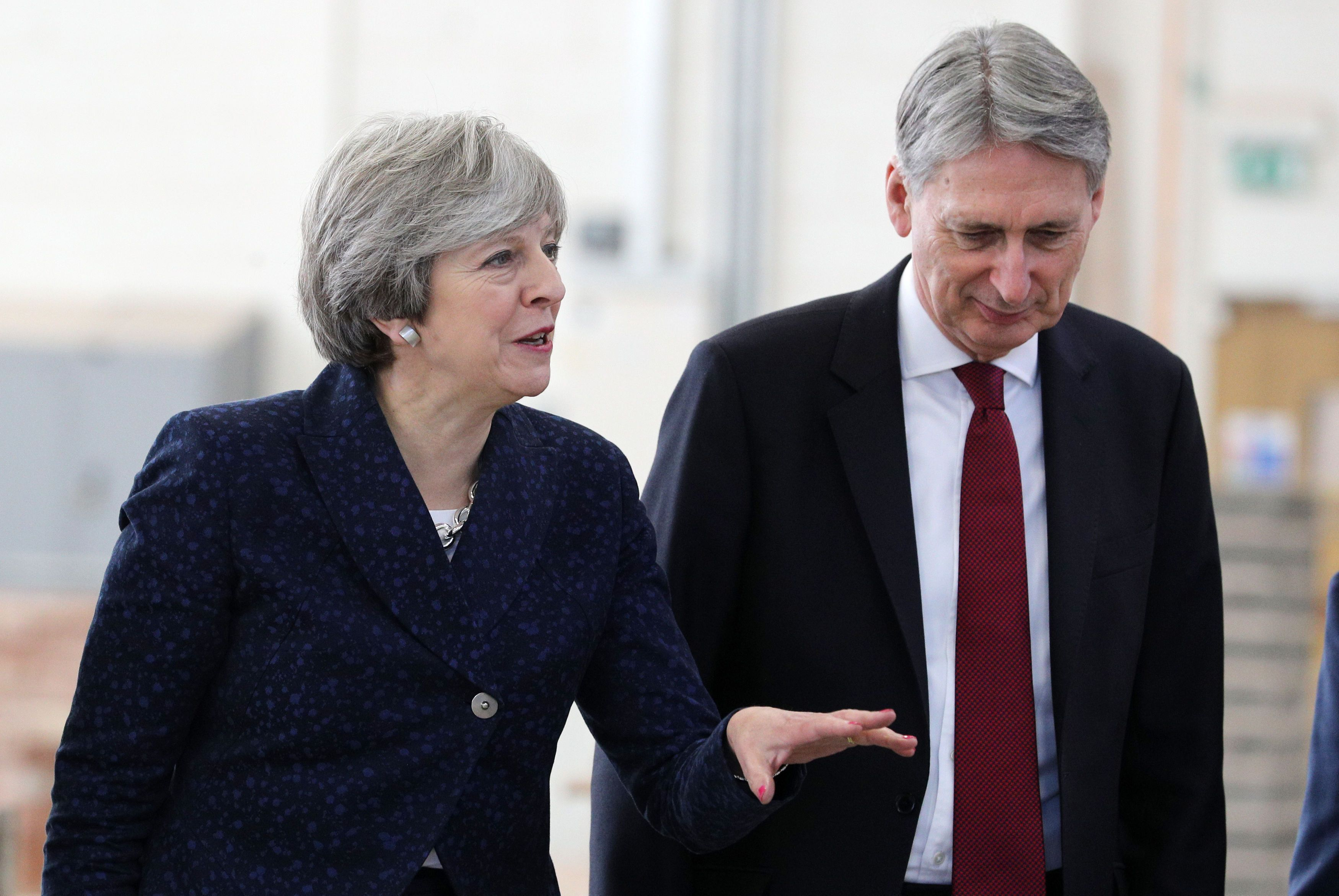 Theresa May stands firm over United Kingdom striking own trade deals