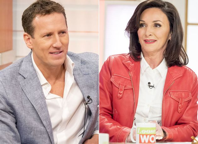 Brendan Cole and Shirley