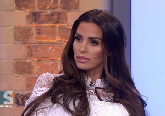 Katie Price on ITV's Peston on