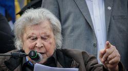 Ομιλία Μίκη Θεοδωράκη: Μας κυβερνούν εθνομηδενιστές. Με κανέναν τρόπο ο όρος Μακεδονία στο νέο όνομα της