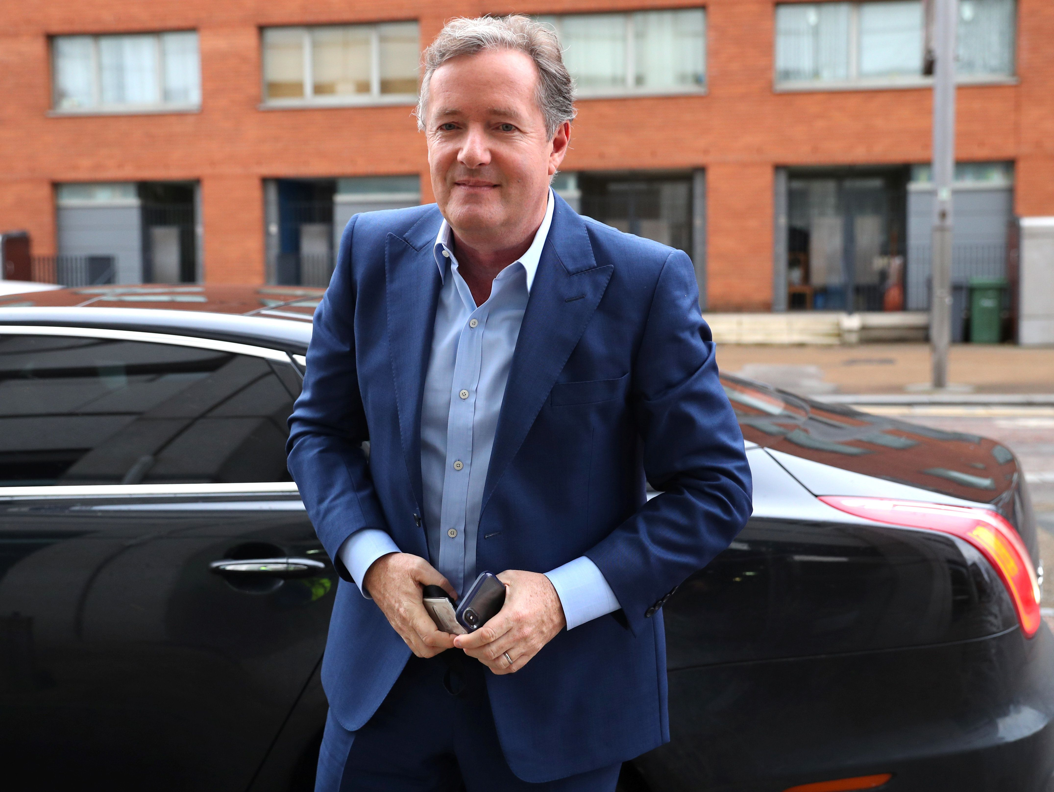Piers Morgan Explains Why He Didn't 'Press Harder' During Donald Trump Interview