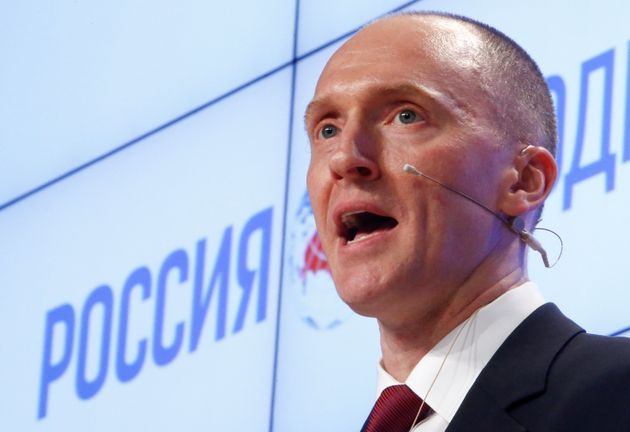 Carter Page is the man at the centre of the
