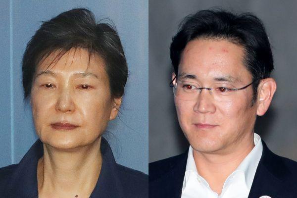 박근혜 전 대통령이 이재용 부회장을 위한 탄원서를
