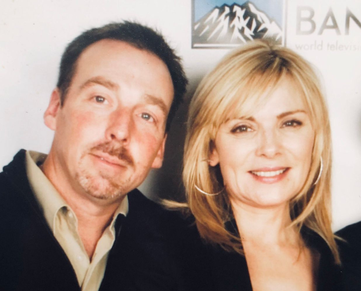 Chris and Kim Cattrall