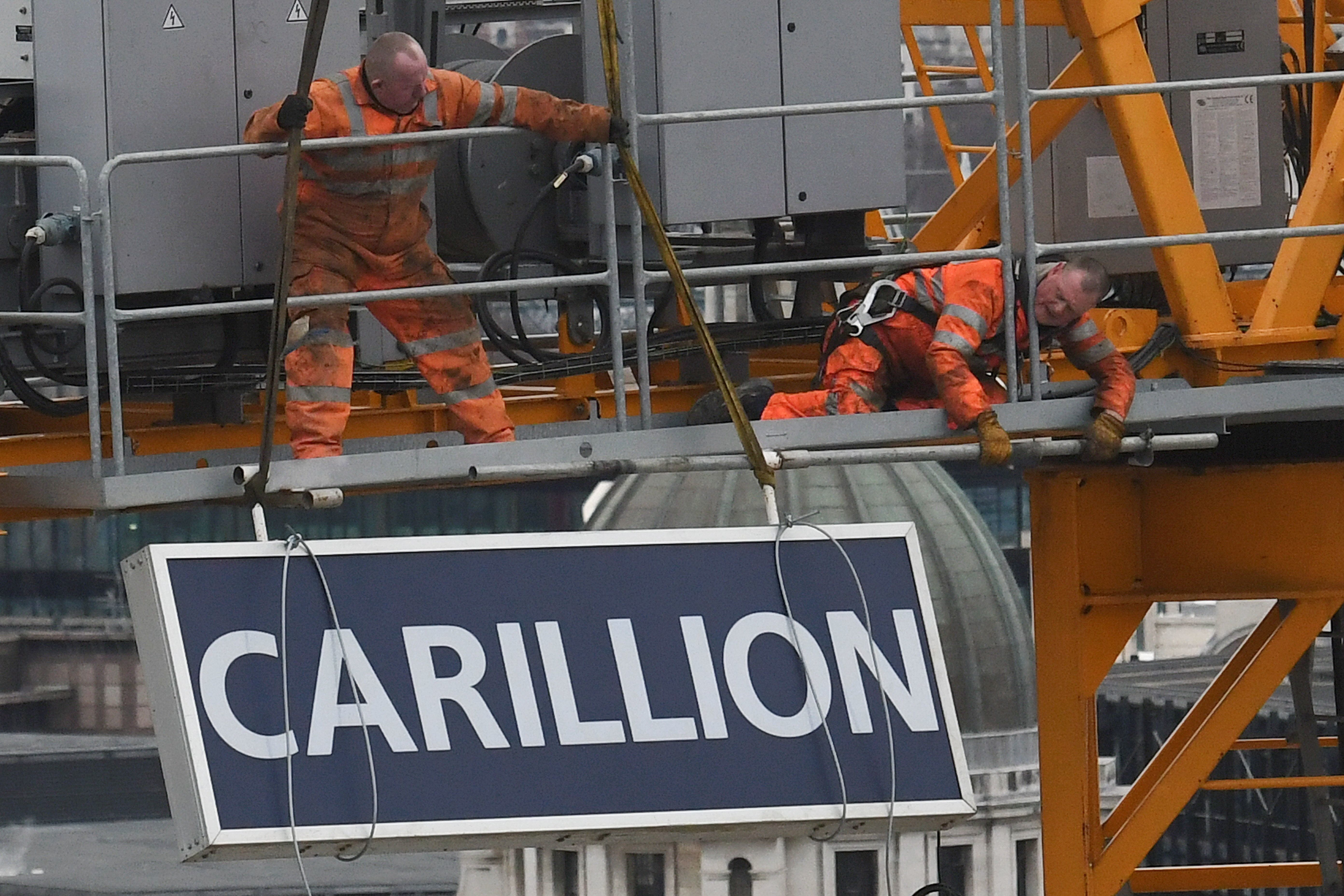 Carillion's liquidation has put at risk the future of many other businesses, a report has