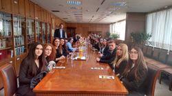 Στον Άρειο Πάγο φοιτητές της Νομικής Σχολής του Ευρωπαϊκού Πανεπιστημίου