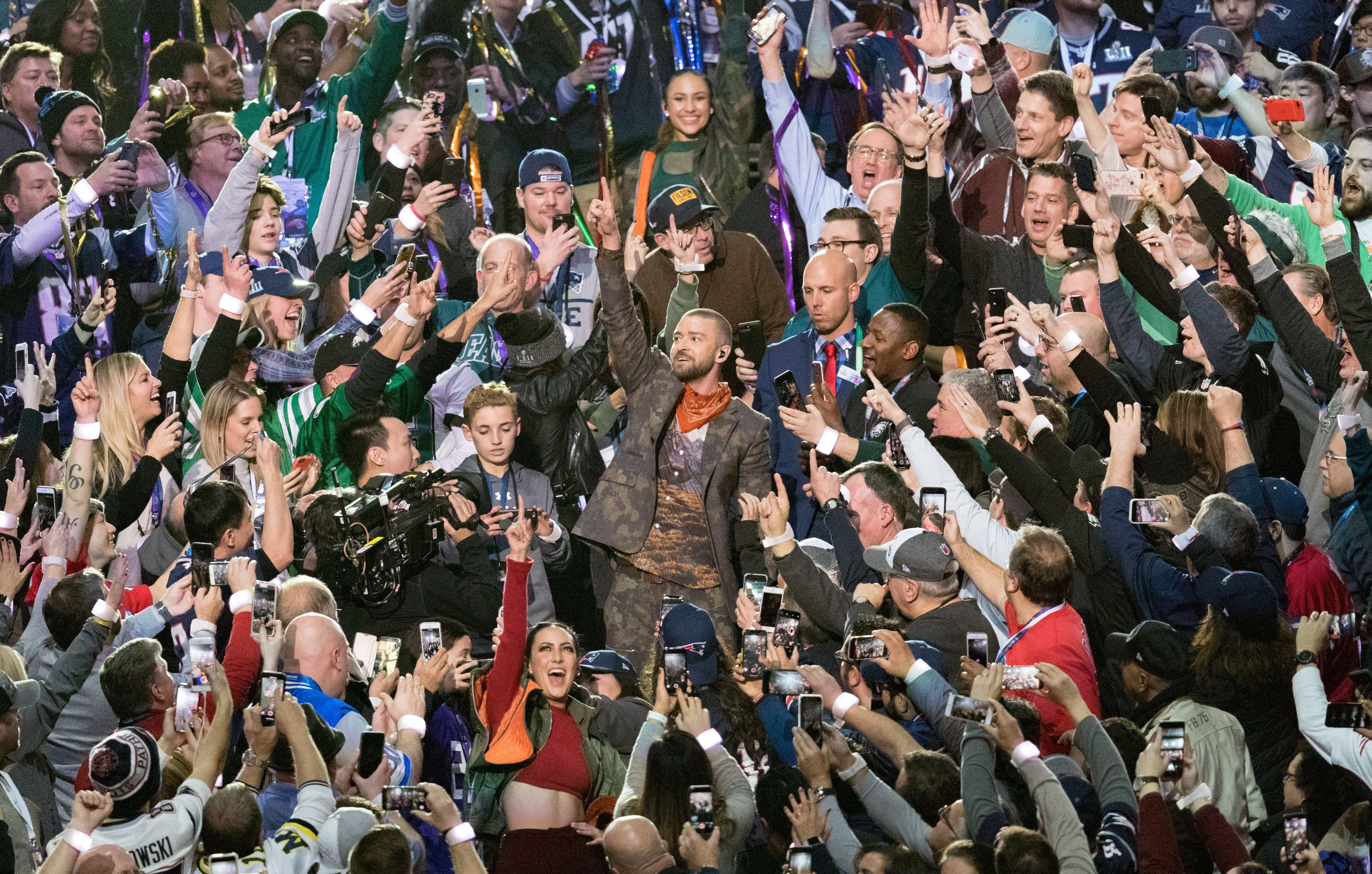 All The Talking Points From Justin Timberlake's Super Bowl Halftime
