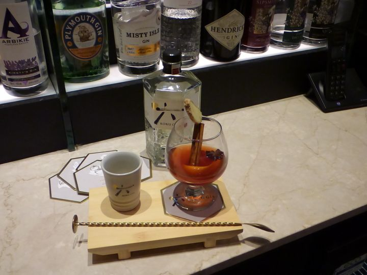 A spiced hot Negroni.