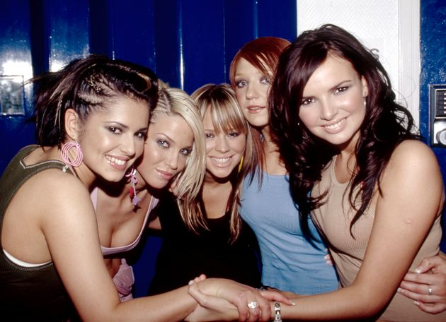 Nadine and her Girls Aloud bandmates back in