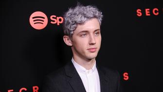 LOS ANGELES, CA - NOVEMBER 01:  Singer Troye Sivan attends Spotify's inaugural Secret Genius Awards at Vibiana Cathedral on November 1, 2017 in Los Angeles, California.  (Photo by Jason LaVeris/FilmMagic)