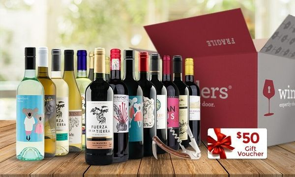 """With $50 gift voucher and free corkscrew. Get it <a href=""""https://www.groupon.com/deals/gg-wine-insiders-33"""" target=""""_blank"""">"""
