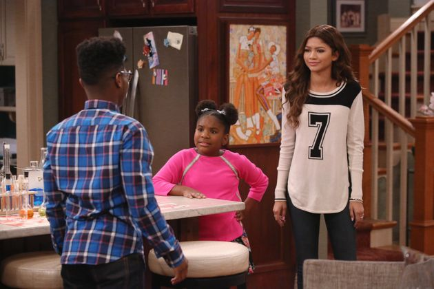Kamil McFadden, Trinitee Stokes and Zendaya on