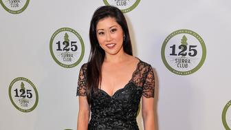 SAN FRANCISCO, CA - MAY 18:  U.S. Olympic figure skater Kristi Yamaguchi attends Sierra Club's 125th Anniversary Trail Blazers Ball at the Palace of Fine Arts on May 18, 2017 in San Francisco, California.  (Photo by Steve Jennings/WireImage)