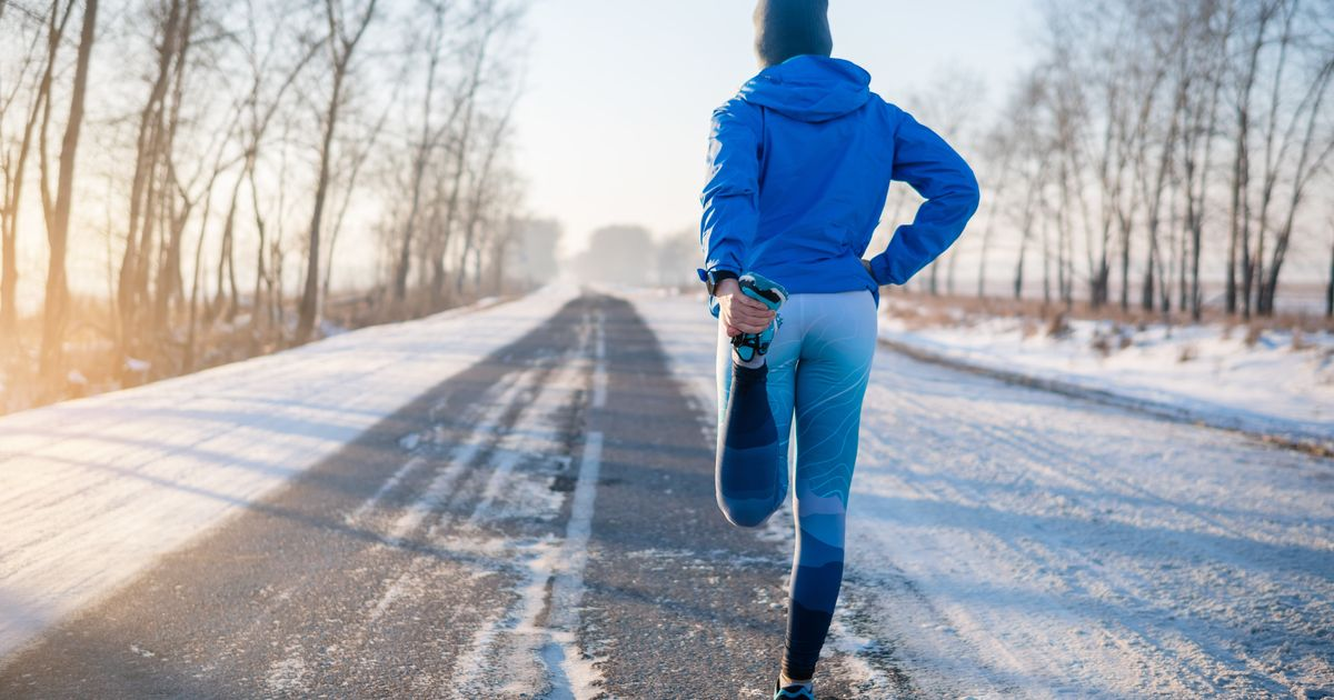 Here's The Right Way To Run Outside In The Winter