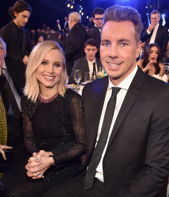 Kristen Bell recalled how Dax Shepard stepped up to care for her health.