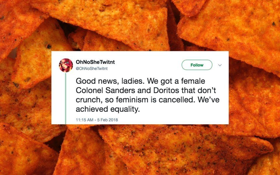 People Hilariously Blast 'Lady Doritos' On