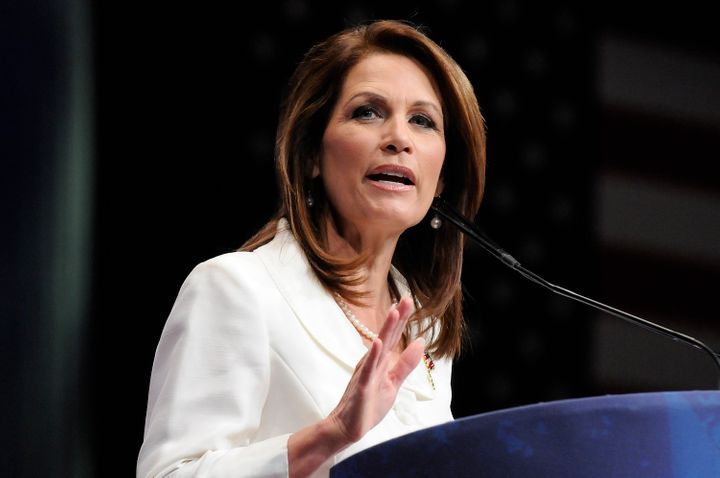 Michele Bachmann turned to God to tell her whether to make a bid for Al Franken's former seat.