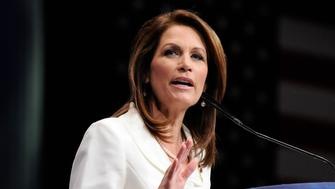 U.S. Representative Michele Bachmann (R-MN) addresses the American Conservative Union's annual Conservative Political Action Conference (CPAC) in Washington, February 9, 2012.  REUTERS/Jonathan Ernst  (UNITED STATES - Tags: POLITICS)
