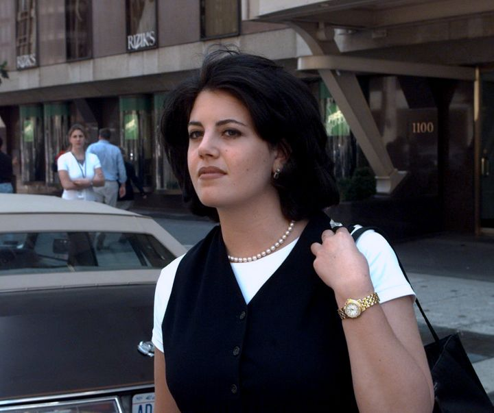 Former White House intern and anti-bullying activist Monica Lewinsky in 2003.