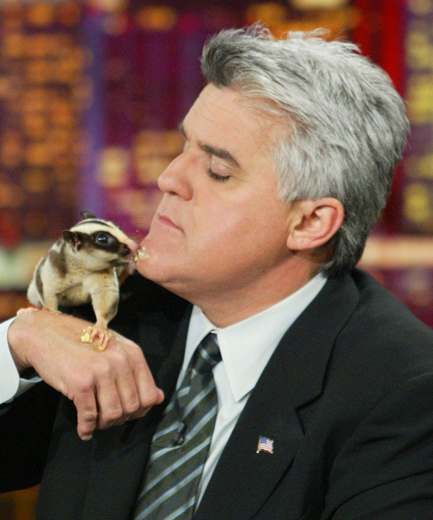 Jay Leno, pictured here in 2003, may have played a large role in creating the enduring myth.