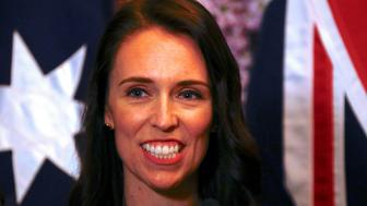 New Zealand Prime Minister Jacinda Ardern smiles as she answers a question during a media conference in Sydney, Australia, November 5, 2017.     REUTERS/David Gray