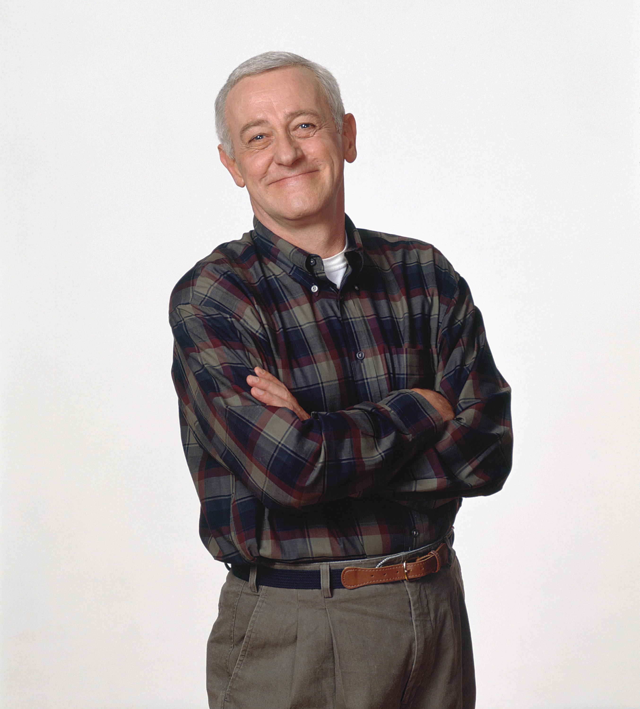 FRASIER -- Season 3 -- Pictured: John Mahoney as Martin Crane  (Photo by NBC/NBCU Photo Bank via Getty Images)