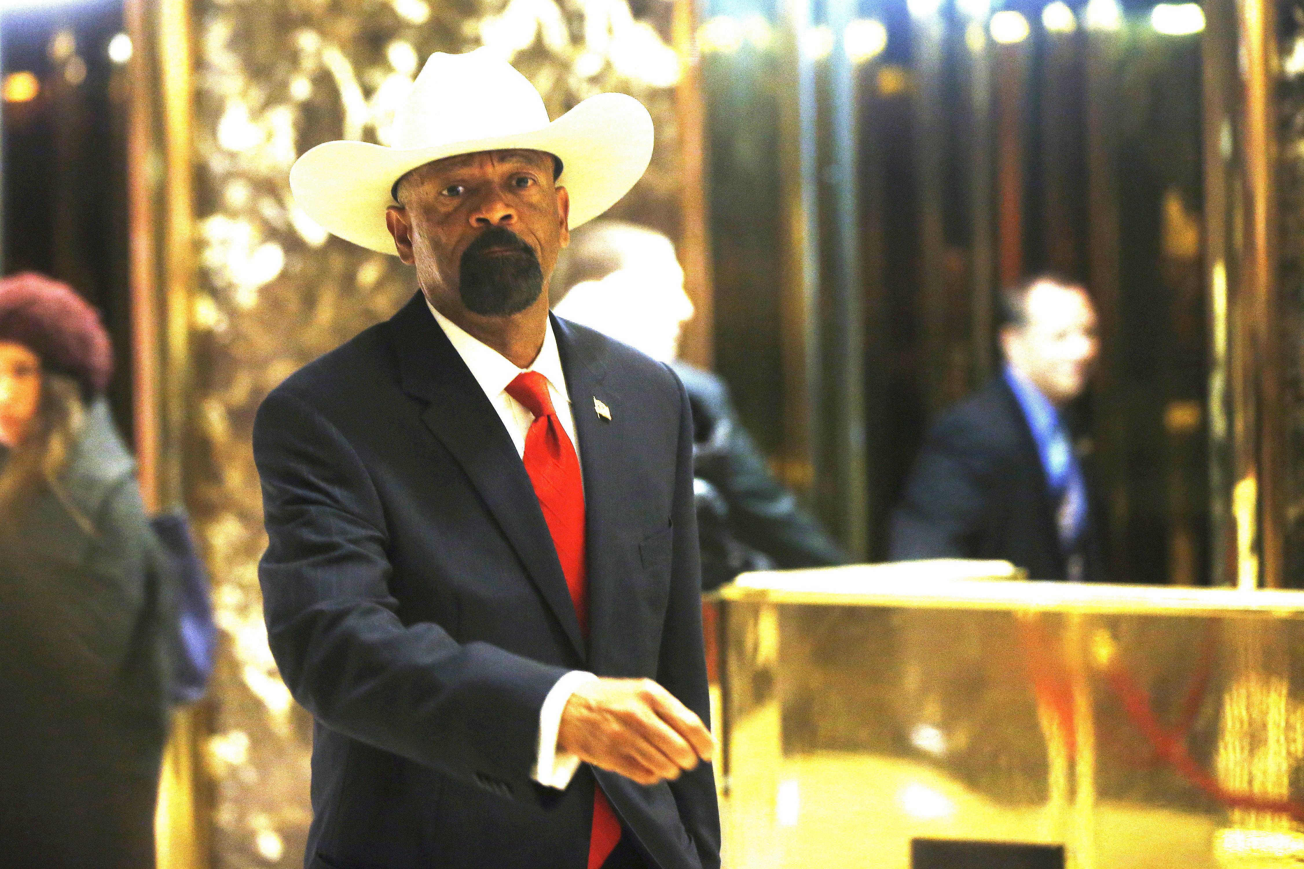 Former sheriff David Clarke