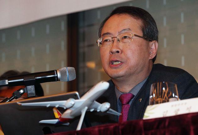 '회장 성추행 논란'에 대한 아시아나 항공의